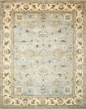 8x10 Traditional Hand-Knotted Modern Chobi Area Rug Grey/Beige Rugs D54401