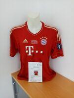 Bayern München Trikot 2011/2012, signiert, Fußball Bundesliga Autogramm Adidas L