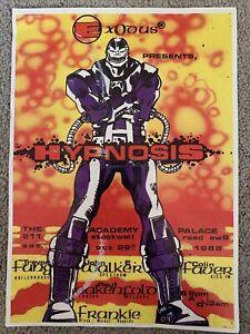 Exodus Presents Hypnosis 1988 Acid House Rave Flyer