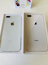 Apple iPhone 8 Plus + - 64GB-Argento (Sbloccato) A1897 (GSM) ref 18