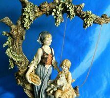 "Giuseppe Armani Figurine Original #0335C Gentle Swing Hand Signed Florence 15"""