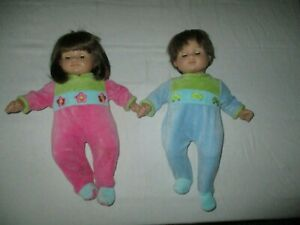 American Girl Retired Bitty Baby Brunette Twins Boy and Girl