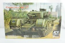 AFV Club #AF35S52 Churchill Mk.VI British Infantry Tank 1/35 Scale Model Kit