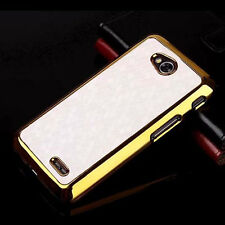 For LG Optimus L70 D320 Luxury Chrome Design hard case Cover  ZQW