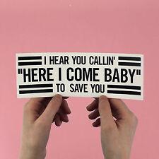 "R kelly Bumper Sticker! ""Your Body's Callin'"", 12 play, R&B, 1990s pop, closet"