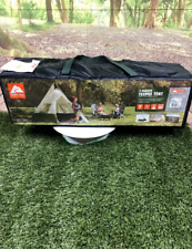 Ozark Trail 7-Person Large Teepee Tent 12' x 12' Family Camping Travel IN HAND