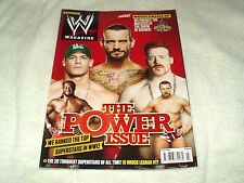 WWE Wrestling Magazine July 2012 John Cena CM Punk Sheamus