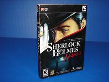 Sherlock Holmes: Nemesis (PC GAME)   ***BRAND NEW SEALED***