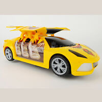 Kids Toy Car xmas Gift Christmas Birthday Gift for Boys Battery Music Lights Red