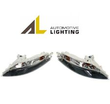 BMW E63 Pair Set of 2 Front Turn Signal Lights & White Lens Automotive Lighting