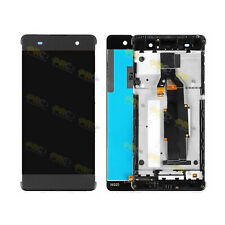 LCD Screen Assembly for Sony Xperia XA with Frame Gray