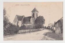 Chessy,Seine-et-Marne,France,Englise Church et Grand Rue,ile-de-France,Used,c'09