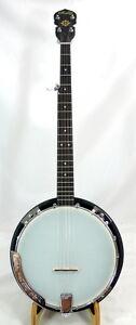 High quality Rally 5 String banjo, Walnut resonator, geared tuners CC50RP