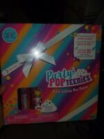 Party Popteenies Rainbow Unicorn Party Surprise Box Playset with Confetti,