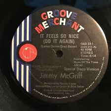 """Jimmy McGriff """"It Feels So Nice (Do It Again) 1976 Groove Merchant Records VG+"""