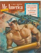 Mr America Bodybuilding Magazine Dedicated To The United States Navy 10-52
