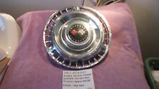 1961 CHEVROLET IMPALA BEL AIR GENUINE VINTAGE FACTORY GM HUBCAP FREE SHIPPING