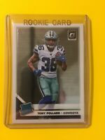🔥🔥2019 DONRUSS OPTIC TONY POLLARD RATED ROOKIE Base #187 RC Cowboys