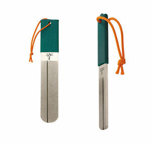 Dr. Slick Hook Files Stainless Steel Dual Diamond Grit for Fly Fishing