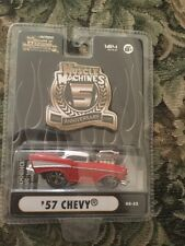 1:64 MUSCLE MACHINES 5TH ANNIVERSARY BLOWN / SUPERCHARGED 57 Chevy
