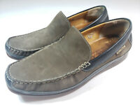Mephisto Cool-Air Men's Loafers Shoes Slip On Size 13 Brown Leather Suede