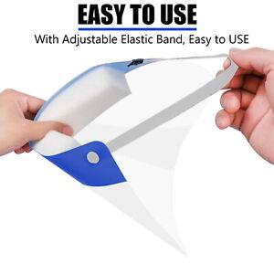 Pack of 1 Safety Full Face Shield Visor Anti Dust & Fog Splash Proof Protective