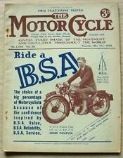 The MOTOR CYCLE Magazine 21 May 1936 BMW & DOUGLAS 500 TESTED New Imperial