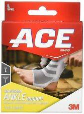 ACE Knitted Ankle Support, Large, 1 Each