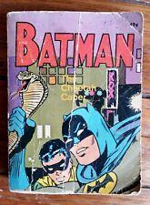 VINTAGE RETRO BATMAN THE CHEETAH CAPER 1969 BIG LITTLE BOOK WHITMAN COLLECTABLE