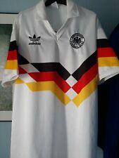 GERMANY Vintage Adidas Italia 90 Adidas Football Shirt Jersey Size XL