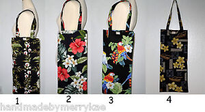 Handmade Washable Yoga Mat Tote Cotton Fabric Bag Pau Skirt Bag Hawaiian Pattern