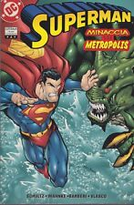 italian edition DC comics SUPERMAN TRADE PAPERBACK # 4 MINACCIA SU METROPOLIS
