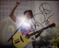 JASON MRAZ SIGNED IM YOURS 8X10 PHOTO W/EXACT PROOF COA RARE PEACE SIGN SKETCH