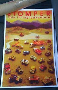 "Repro 11x17"" Schaper Stomper 4x4 Monster Truck Poster (No Frame)"