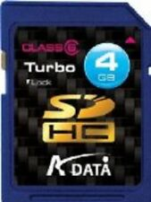 A-DATA SECURE DIGITAL SDHC 4GB  SDHC  TURBO 4 GB CLASSE 6