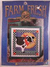 Designs for the Needle COW Cross Stitch Kit Farm Fresh #6701