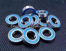 [5 PCS] 6800RS (10x19x5mm) Metal Rubber Sealed Ball Bearing Bearings (BLUE)