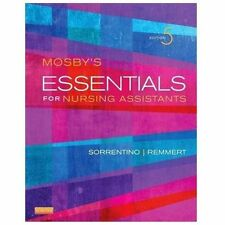 Mosby's Essentials for Nursing Assistants by Sheila A. Sorrentino and Leighann R