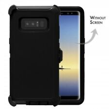 For Samsung Galaxy Note 8 Heavy Duty Defender Case Cover with Belt Clip Black