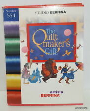 Studio Bernina Embroidery Design Card Number 554 The Quilt Maker'S Gift - Used