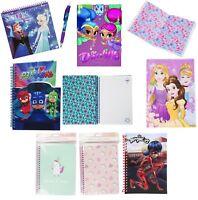 Children Spiral,Bound Notebooks School Stationary Princess Frozen Kids Xmas Gift