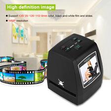 Portatile Scanner Diapositive Fotografico Pellicola Indipendente Negativi LCD