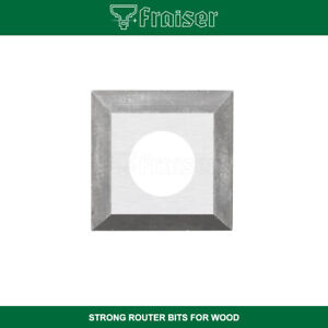 Inserti carburo QUADRATI HW 10pz. per fresa – Frese x legno CNC – FRAISER