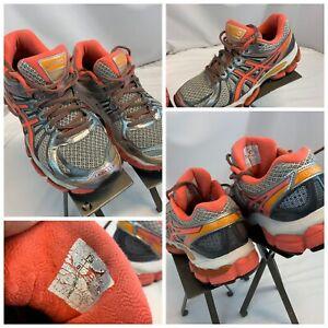 Asics Gel Nimbus 15 Sz 6 Women Gray Pink Running Shoes Minor Wear YGI C0S-81