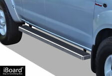 """4"""" iBoard Running Boards Nerf Bars Fit 99-04 Nissan Frontier Crew Cab"""