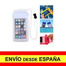 Funda Impermeable IPHONE 5, 5S, 5C, SE Estanca Protector Acuático Blanco a1162