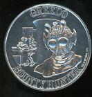 Kenner Star Wars POTF Coin 1984 Greedo Vintage RARE