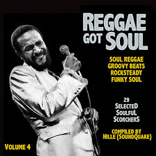 REGGAE GOT SOUL MIX CD VOL 4