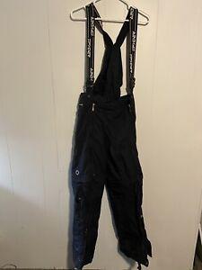 Womens Spyder Ski Snow Pants Training Snowboard Convertible Shorts Black Medium