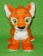 Neopets Small Kougra Orange Plush Stuffed Animal Toy Snap It Toys 2003